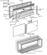 pi ces d tach es pour baie acrylique seitz dometic. Black Bedroom Furniture Sets. Home Design Ideas