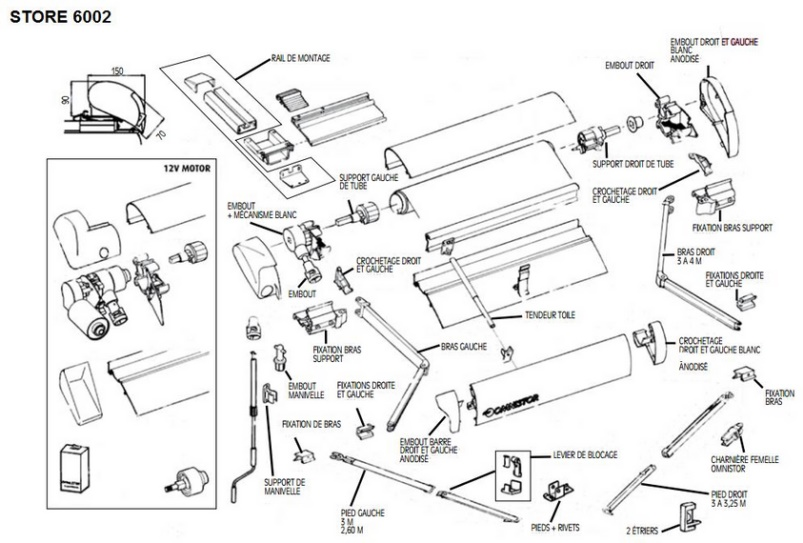 store omnistore 6002. Black Bedroom Furniture Sets. Home Design Ideas